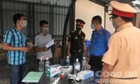 Ghi nhận ngày đầu Đồng Nai triển khai các chốt kiểm soát dịch ở cửa ngõ