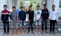 7 thiếu niên dùng hung khí tự chế xông vào tiệc nhậu chém loạn xạ