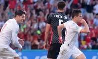 Clip Tây Ban Nha loại Croatia sau màn rượt đuổi tỷ số nghẹt thở