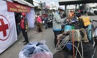 Người dân vào Đồng Nai được khai báo y tế, tầm soát COVID-19 tại chốt kiểm soát
