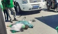 Tai nạn làm người mặc áo GrabBike tử vong, xe tải rời khỏi hiện trường