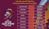 Vòng loại thứ 3 - World Cup 2022: Đội tuyển Việt Nam được đá trên sân nhà