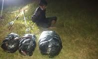 Bắt giữ đối tượng vận chuyển 20kg cần sa từ Campuchia về Việt Nam