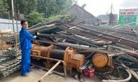 Thuê xe tải trộm tài sản hơn 1 tỷ đồng trong công trình, đem bán phế liệu