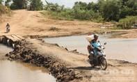Vụ dân liều mình vượt sông: Đã có đường bắc qua sông