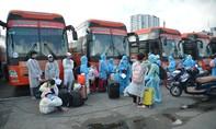 Gần 500 người quê Đắk Lắk ở TPHCM được đưa về quê tránh dịch