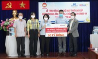 Tập đoàn Sovico và HDBank tặng 100 máy thở cao cấp cho TPHCM