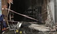 Cháy tiệm tạp hóa, 3 người chết, 2 người đang cấp cứu
