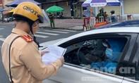Công an TPHCM hướng dẫn 11 vấn đề liên quan kiểm tra giấy đi đường