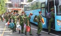 50 cán bộ, học viên ĐH CSND chi viện Công an TP.Thủ Đức chống dịch