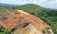 Giám đốc ngân hàng huỷ hoại đất: Chuyển hồ sơ sang Công an