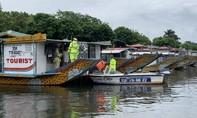 Công an Thừa Thiên Huế vừa chống dịch vừa ứng phó bão số 5