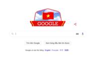 Google đổi giao diện mừng ngày Quốc khánh Việt Nam