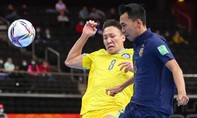 Thái Lan thua đậm ở vòng 1/8 Futsal World Cup