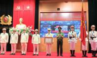Cục Cảnh sát PCCC & CHCN đón nhận Huân chương Quân công hạng Nhì