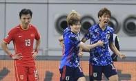 Clip trận Nhật Bản giành trọn 3 điểm trước Trung Quốc