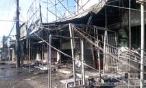 Hiện trường vụ cháy 19 căn nhà khiến 6 người chết sau tai nạn xe bồn
