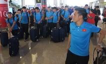 Hình ảnh ĐT Việt Nam từ Bacolod về sân bay Nội Bài