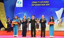 Tập đoàn Hoa Sen 3 năm liên tiếp được vinh danh Thương hiệu Quốc gia