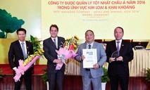 Tập đoàn Hoa Sen nhận giải Công ty quản lý tốt nhất châu Á 2016