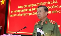 Bộ trưởng Tô Lâm thăm, làm việc tại Công an, Cảnh sát PCCC TP.Cần Thơ