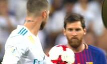 Video: Sergio Ramos khiến Messi bẽ mặt trong trận Siêu cúp