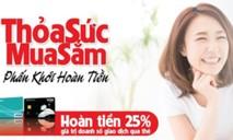 Hoàn tiền 25% cho khách hàng sử dụng ABBank Visa Cresit