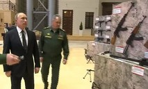 Ông Putin thị sát vũ khí tịch thu được từ phiến quân Syria