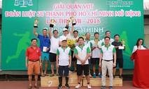Giải quần vợt Đoàn Luật sư TP.HCM mở rộng 2018
