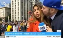 Nữ phóng viên bị lạm dụng tình dục khi đang đưa tin World Cup