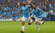 Man City dội mưa bàn thắng trên sân Cardiff