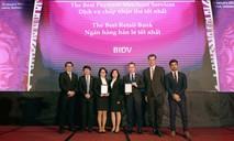 """BIDV - """"Ngân hàng Bán lẻ tốt nhất Việt Nam"""" 5 năm liên tiếp"""