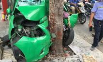 Taxi Mai Linh gây tai nạn liên hoàn ở Sài Gòn, 2 người bị thương