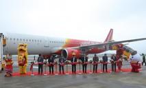 VietjetAir chính thức mở đường bay Vân Đồn - TP.HCM