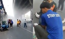 Tòa nhà 4 tầng ở Thái Lan bất ngờ đổ sụp, hai phụ nữ bị thương