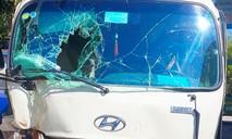 27 hành khách thoát chết khi xe khách mất phanh