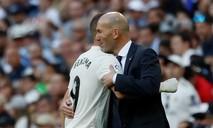 Zidane trở lại, Real vẫn thắng nhọc đội nhóm cuối BXH