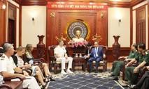 Tư lệnh Bộ Tư lệnh Ấn Độ Dương - Thái Bình Dương Mỹ thăm TP.HCM
