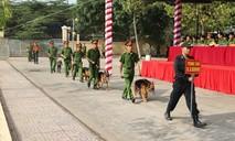 Tổ chức hội thi chó nghiệp vụ CAND khu vực phía Nam