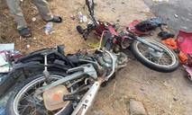 Xe khách tông xe máy, hai vợ chồng tử nạn thương tâm
