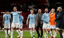 Man City giành 3 điểm trên sân Man Utd, lên ngôi đầu bảng