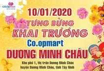 Tưng bừng khai trương Co.opmart Dương Minh Châu