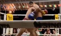 Clip hai võ sĩ muay Thái bị knock out cùng lúc