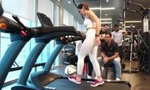Hotgirl phá kỷ lục thế giới vừa tâng bóng vừa chạy máy chạy bộ