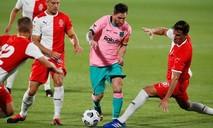 Clip Messi lập cú đúp trong chiến thắng 3-1 của Barca