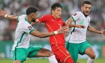 Clip trận Trung Quốc thua sát nút Saudi Arabia