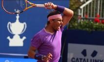 Clip Nadal hạ Kei Nishikori, vào tứ kết Barcelona mở rộng