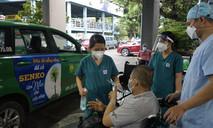 Bệnh nhân COVID-19 thứ 500 được xuất viện tại BV Nhân dân Gia Định