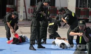 Trung đoàn cảnh sát cơ động – 'Quả đấm thép' của Công an TP.HCM