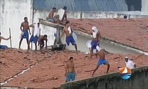 Lại xảy ra bạo loạn băng đảng trong nhà tù Brazil khiến 26 người thiệt mạng